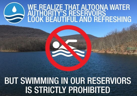 Swimming is Prohibited Slideshow